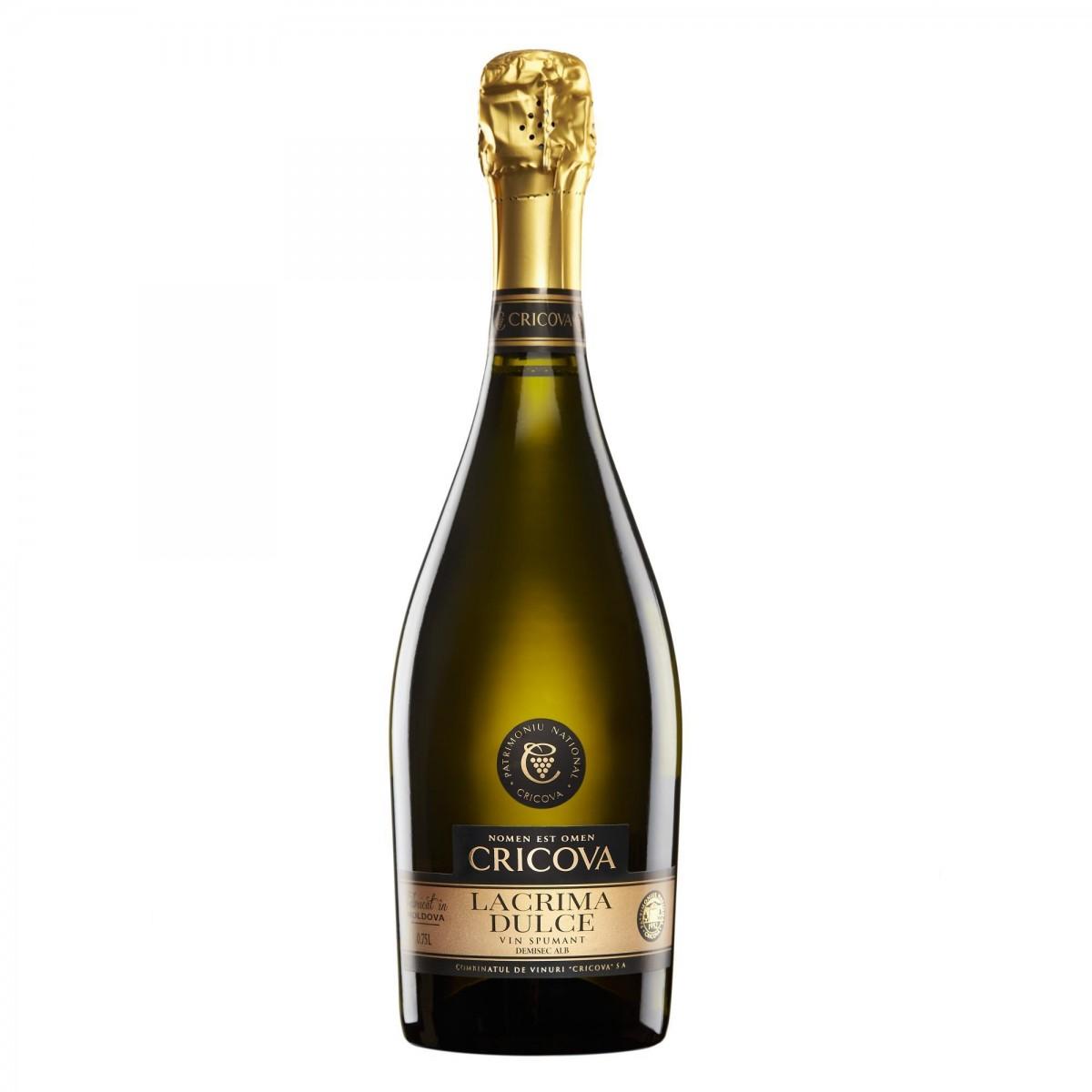 Șampanie Cricova Lacrima dulce