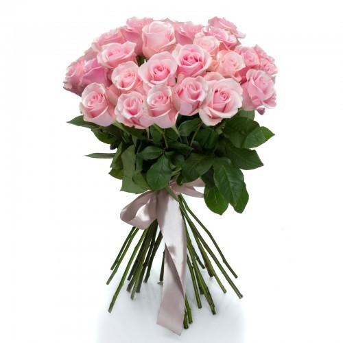 25 trandafiri roz