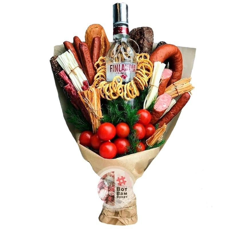 Sausage bouquet Finland